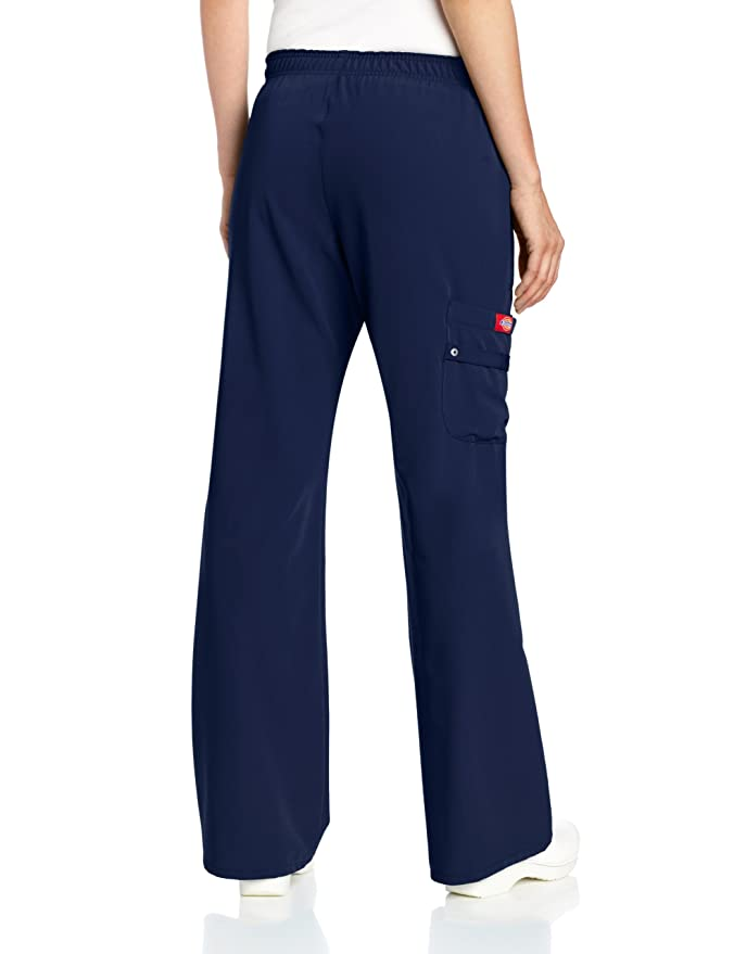 Dickies Scrubs Womens Xtreme Stretch Fit cintura elš¢stica, azul marino, medio: Amazon.es: Ropa y accesorios