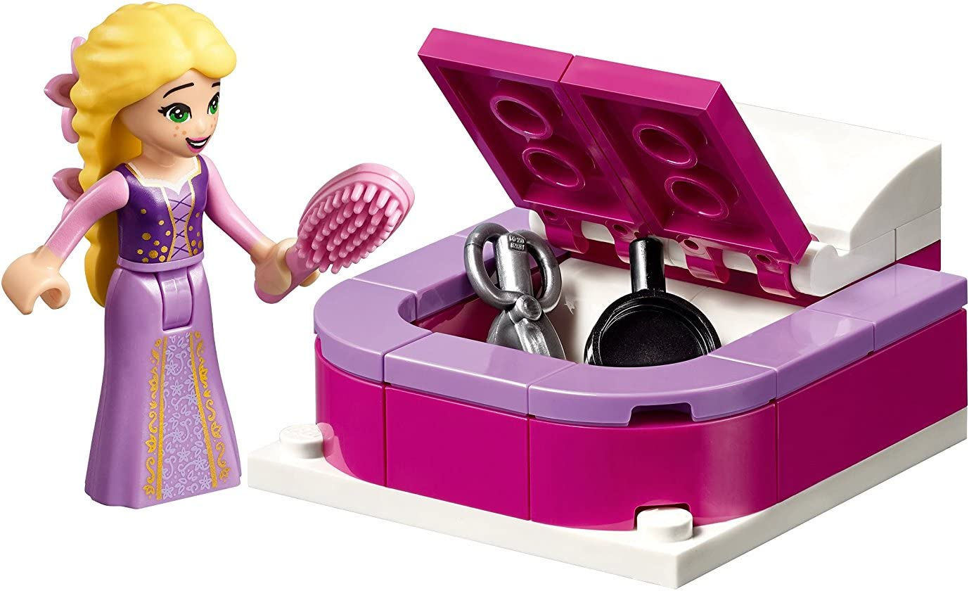 Lego Disney Tangled The Series Rapunzel S Castle Bedroom Costruzioni Toys Games Amazon Com