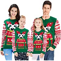 BFUSTYLE Kids/&Parents Ugly Christmas Sweater,Xmas Pullover Sweatshirts,Pajamas