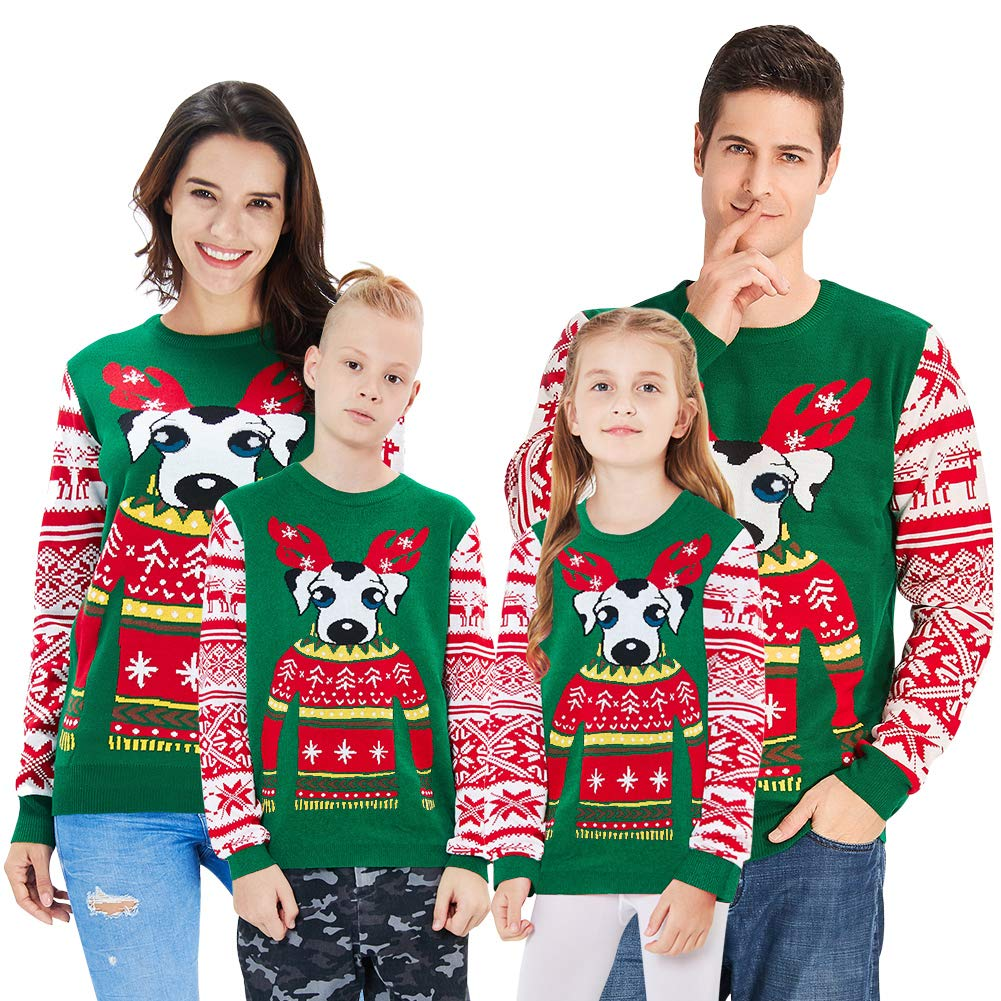 128929ea9 Amazon.com  BFUSTYLE Kids Parents Ugly Christmas Sweater