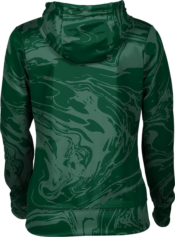 ProSphere Tiffin University Girls Zipper Hoodie Ripple School Spirit Sweatshirt