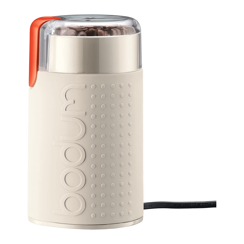 BODUM Bistro Blade Electric Coffee Grinder White-11160-913 11160-913EURO 11160-913EURO_913