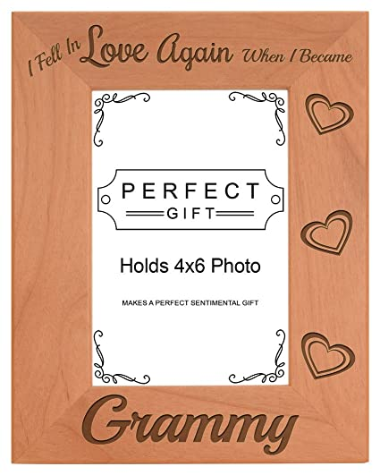 Amazon.com - ThisWear Grandma Gifts Fell in Love When Became Grammy ...