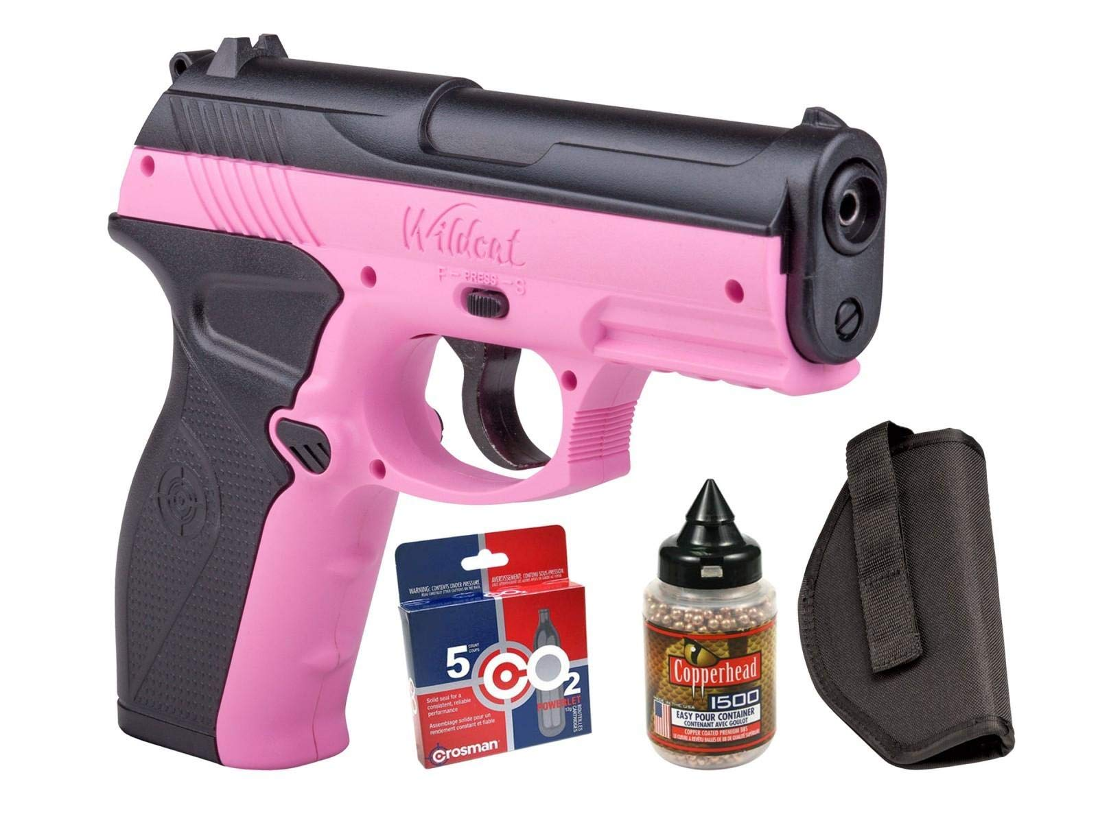 Crosman Wildcat CO2 Pistol BB Kit air pistol by Crosman