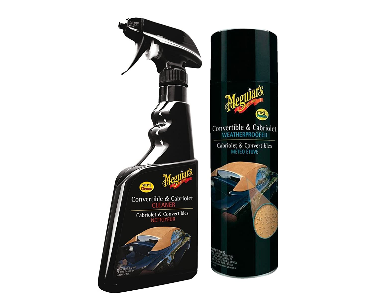 Meguiar's Convertible and Cabriolet Cleaner and Weatherproofer Set