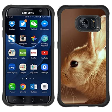 PatriotCase ] SAMSUNG GALAXY S7 EDGE Rugged Dual Layer Case