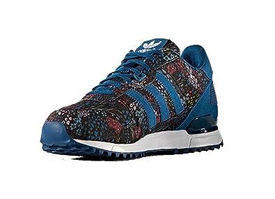 adidas ZX 700 W, Chaussures de Sport Femme, Multicolor (Acetec/Acetec/Ftwbla), 36 2/3 EU