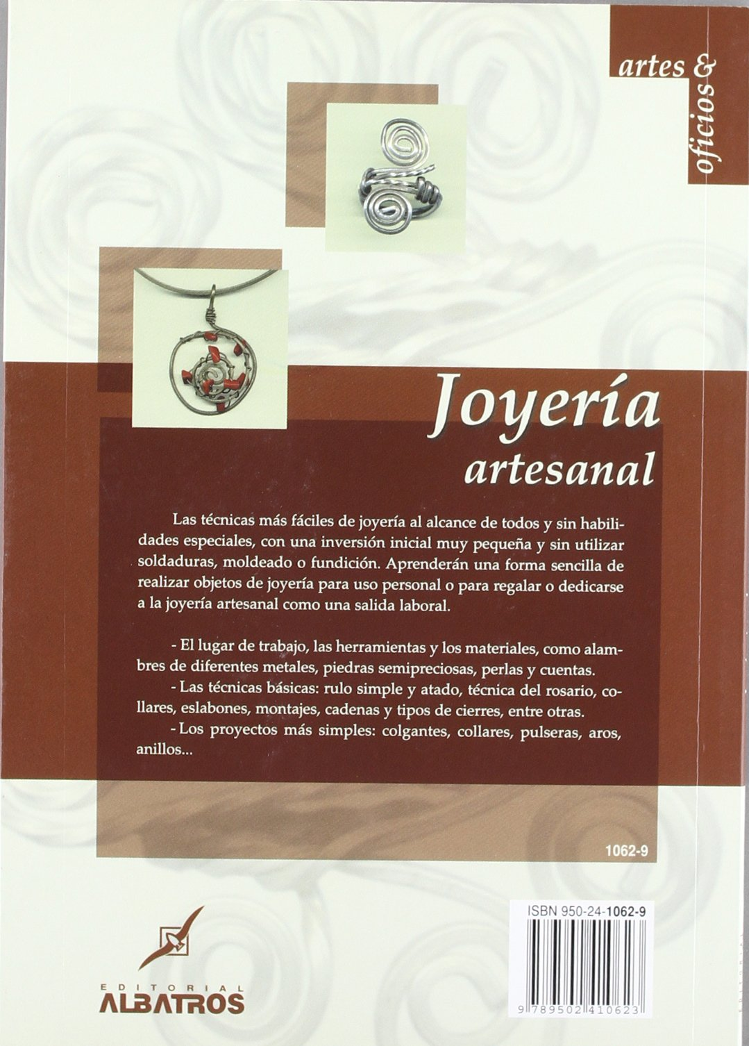 Joyeria Artesanal (Artes & Oficios) (Spanish Edition): Tomas OFarrell: 9789502410623: Amazon.com: Books