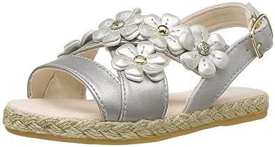 550373e6138 UGG Kids T Allairey Shimmer Flat Sandal