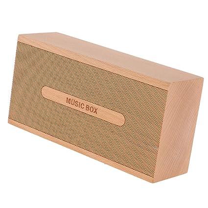 Baoblaze Tallado A Mano Caja de Música de Madera Mecanismo ...