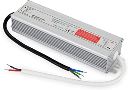 Transformador IP67 50 W – 230 V a 12 V Caja de aluminio – LED Adecuado a partir de 1 W: Amazon.es: Iluminación