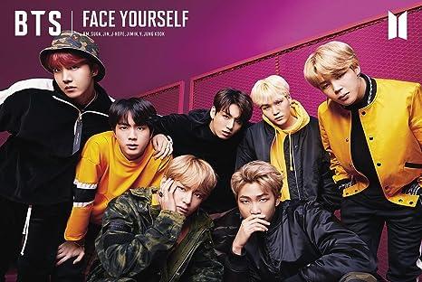 Poster BTS Face Yourself - Kpop 24in x 36in Jin Jimin Suga RM V Jungkook  J-hope