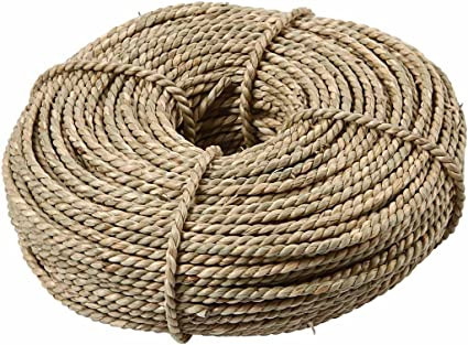 Cuerda marinera, grosor 2,8-3 mm, aprox. 145 m, natural, 500gr