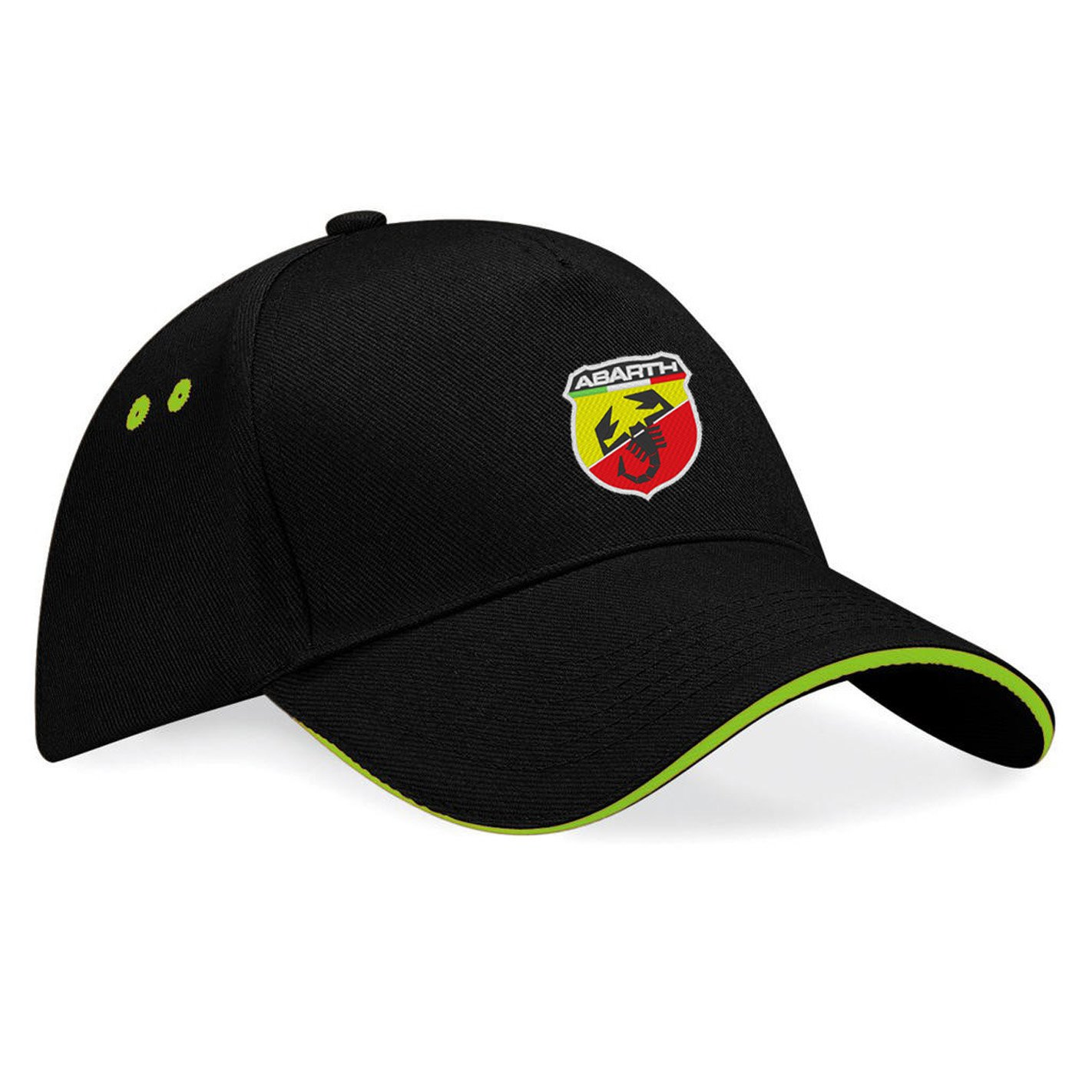 avstickerei Abarth Fiat Embroidered Baseball Cap, Really Premium Quality -k096