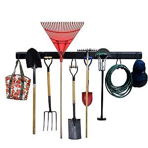 Ultrawall Garage Storage System,12PCS Garage Hanger Tool Organizer with Hooks, Hanger