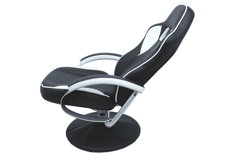 Tv sessel design  Cavadore TV-Sessel Racer 01 / Verstellbarer Sessel mit Hocker im ...