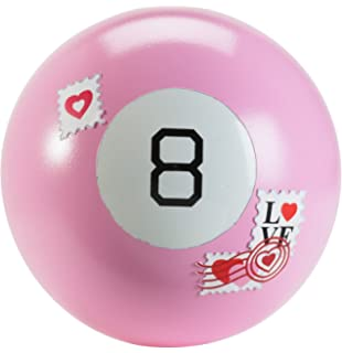 Amazon Com Valentines Day Pink Magic 8 Ball Love Date Ball The