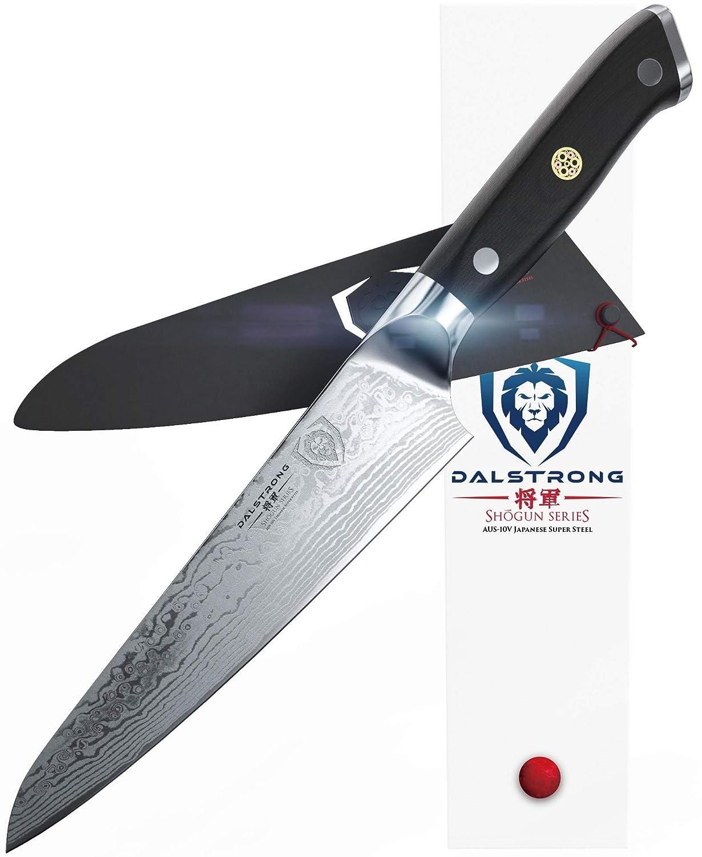 Dalstrong - Cuchillo de chef - serie Shogun - AUS-10V súper ...