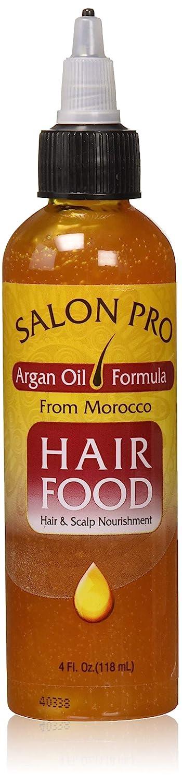 Salon Pro Hair Food Argan Oil 4 Oz