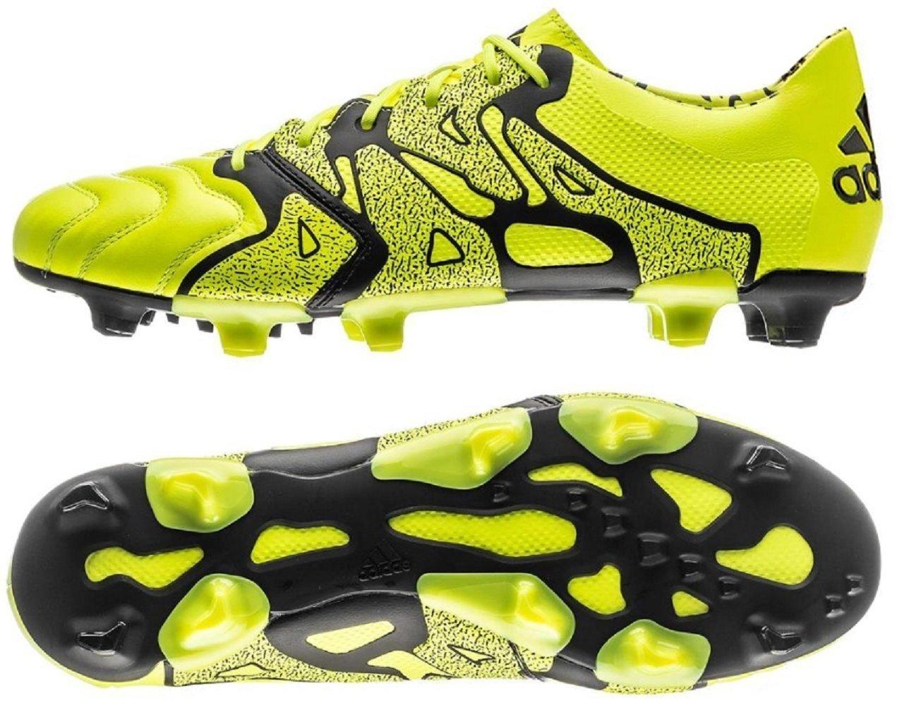 アディダス adidas 28.5cm 天然芝/人工芝用 サッカースパイク エックス X 15.1 FG/AG 国内正規品 B26979 ソーラーイエロー B0797DR6MX