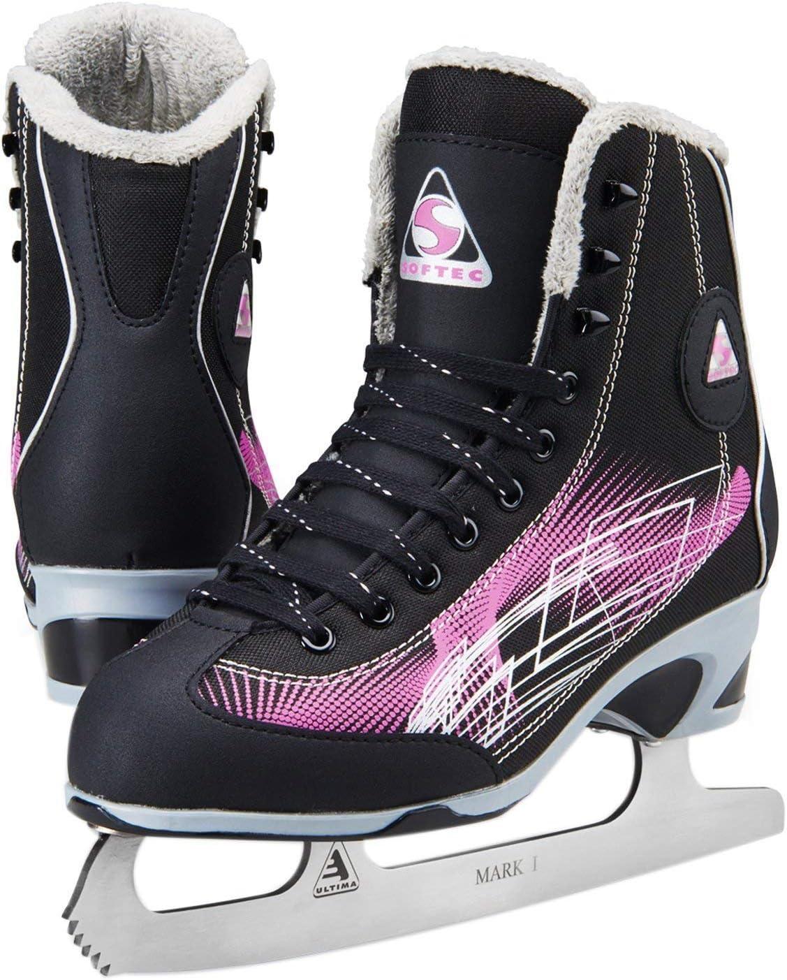 Jackson Ultima Figure Skates - Rave レディース RV2000 パープル 幅 ミディアム  Adult Medium 6