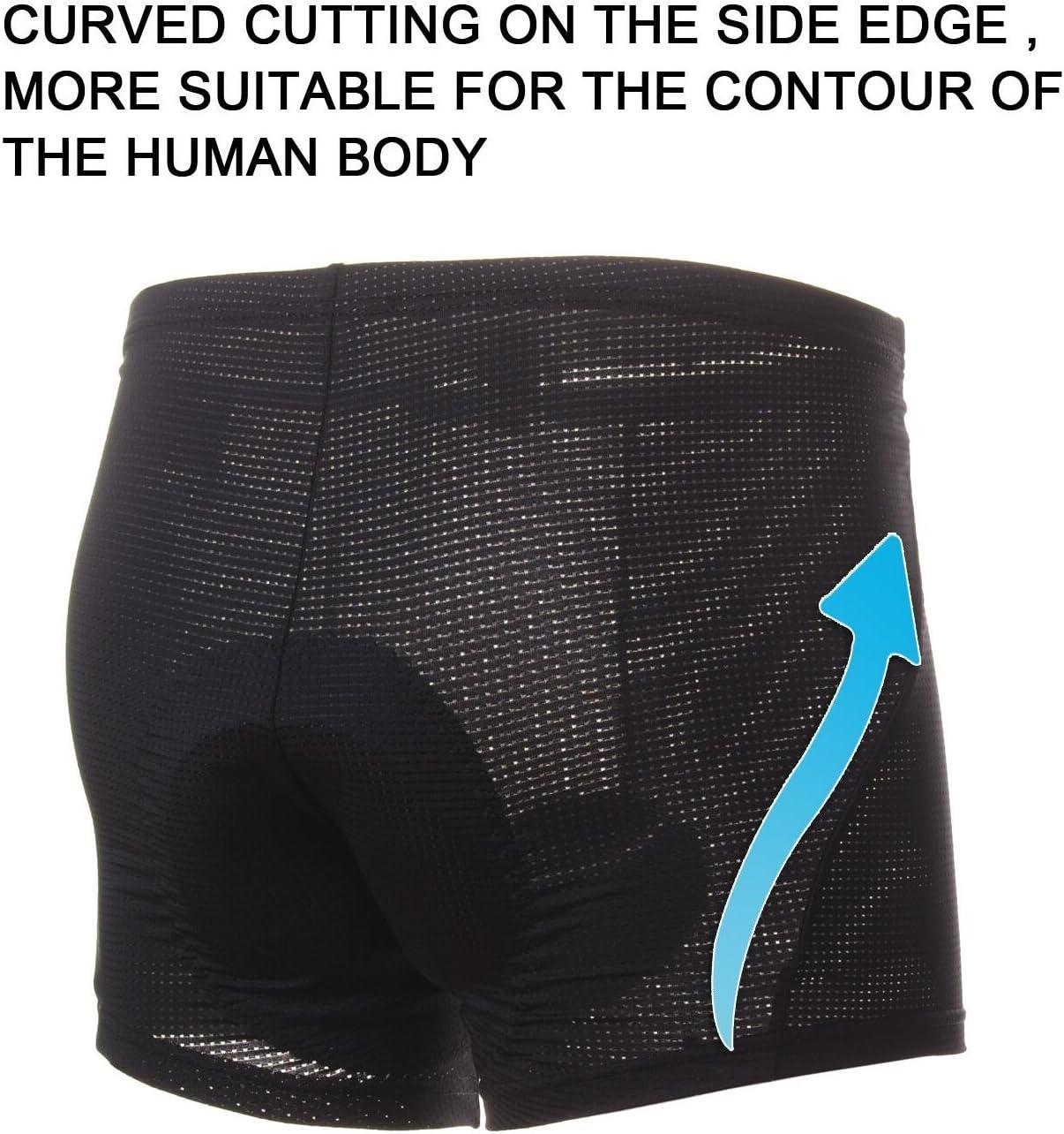 Women Breathable,Lightweight,Men 4ucycling 3D Silicon Gel Padded bike Underwear Shorts