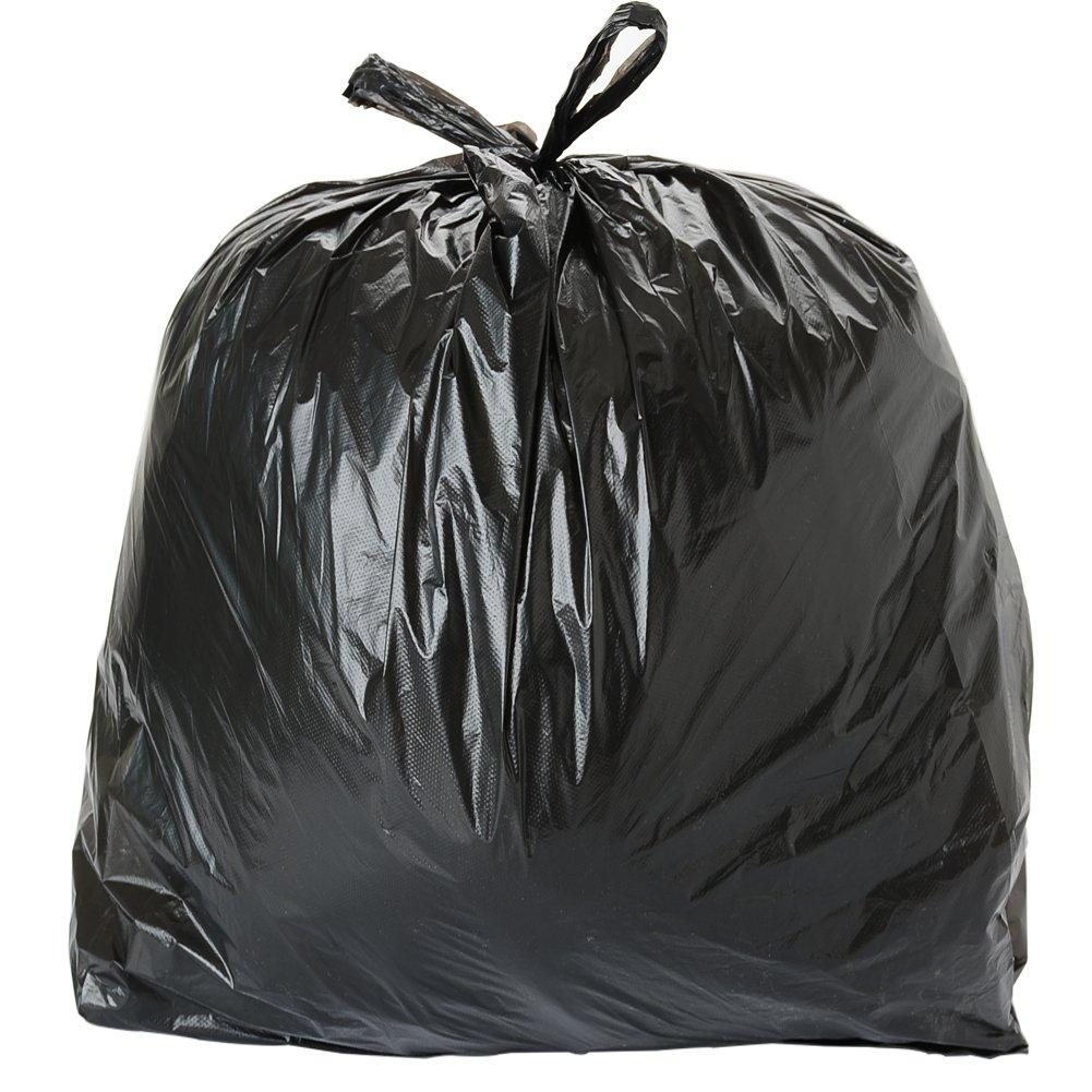 ToughBag Trash Bags 57 cmx36 cm 33 Gal 100 /ケースGarbage Bags 1.2 Mil (ブラック) B07CTQGQFJ