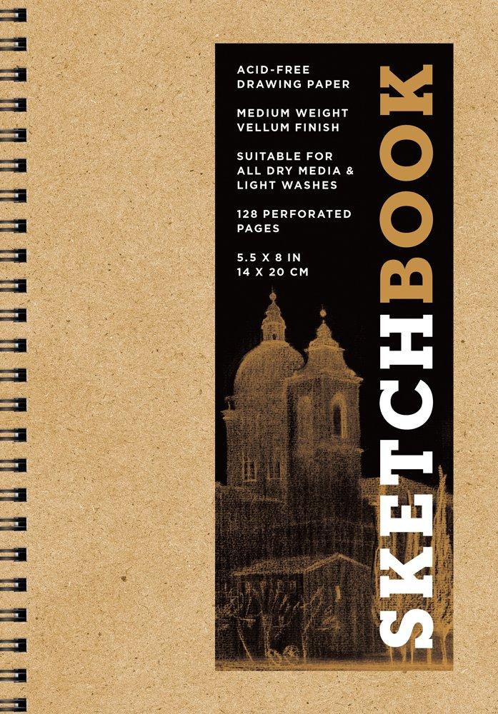 Download Sketchbook (Basic Small Spiral Kraft) (Sterling Sketchbooks) ebook
