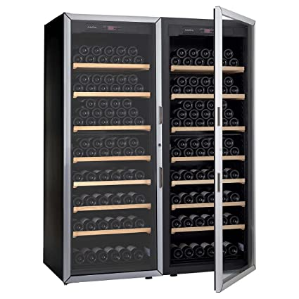Artevino Double Unit by EuroCave 400-bottle Free-Standing Single-Zone Wine Cellar  sc 1 st  Amazon.com & Amazon.com: Artevino Double Unit by EuroCave 400-bottle Free ...