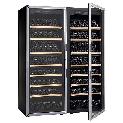 Artevino Double Unit by EuroCave 400-bottle Free-Standing Single-Zone Wine Cellar  sc 1 st  Amazon.com & Amazon.com: Artevino Double Unit by EuroCave 400-bottle Free ...