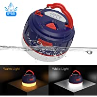 FOGEEK Linterna portátil para acampar, luz de mini