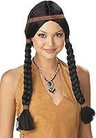 California Costumes Women's Indian Maiden Wig