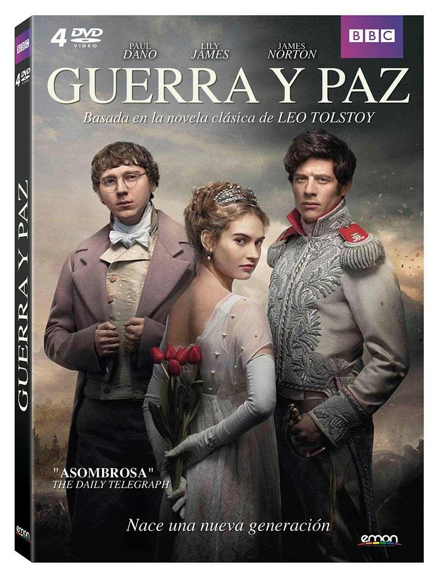 Guerra Y Paz [DVD]: Amazon.es: Paul Dano, James Norton, Lily James ...