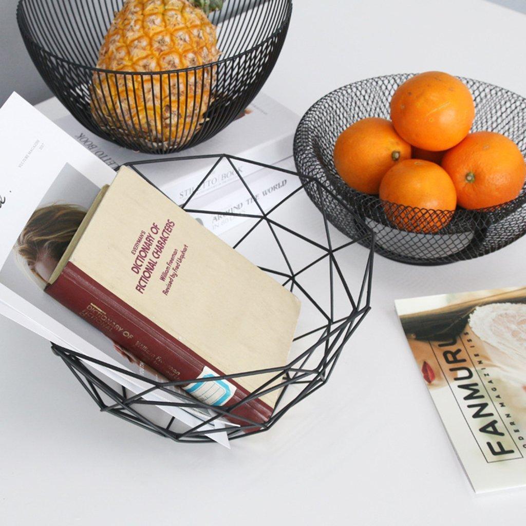 soporte para minimalismo n/órdico A cestas Cesta de frutas de metal para almacenamiento de verduras Tandou huevos para cocina
