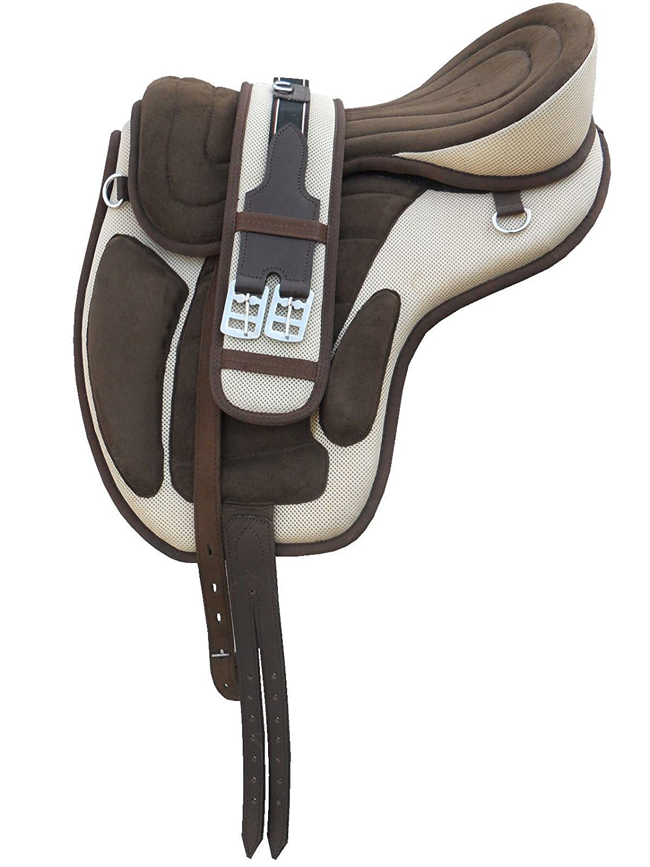 All Purpose Youth Synthetic Treeless Freemax English Pony Horse Saddle Tack
