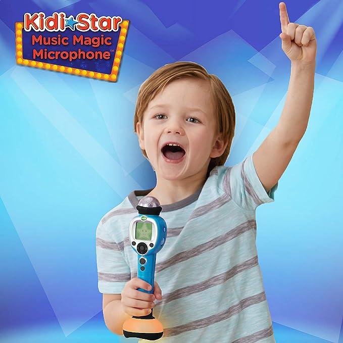 VTech 伟易达 Kidi Star 儿童炫酷明星魔法话筒玩具 $22.99 海淘转运到手约¥191 中亚Prime会员可凑单免运费直邮到手约¥218