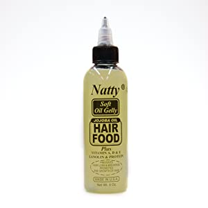 Natty Jojoba Oil Hair Food 4oz [SEALED]