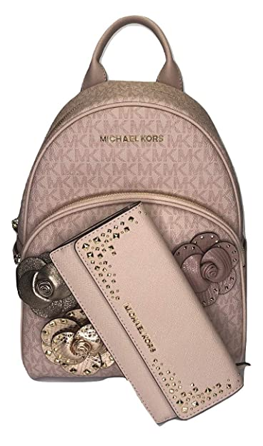 bcd605646bd Amazon.com: Michael Kors Abbey MD Backpack bundled with Michael Kors ...