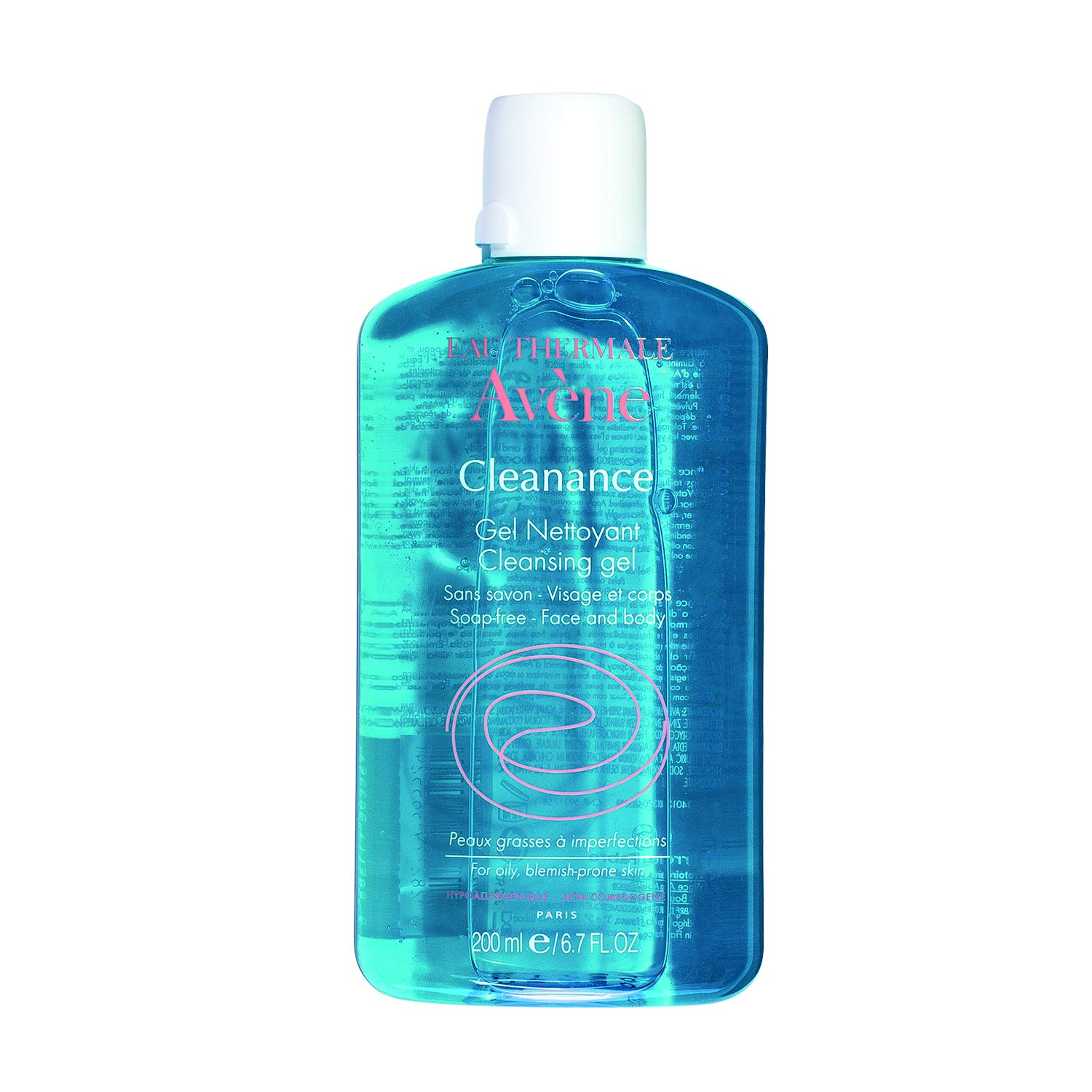 Eau Thermale Avene Cleanance Cleansing Gel Soap Free Cleanser for Acne Prone, Oily, Face & Body, 6.7 oz. by Eau Thermale Avène