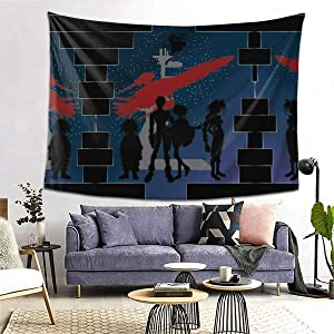 Anime & an Outlaws Life for Us Wall Tapestry Apestry Album 3D Wall Hanging Art Home Decor Wave Tapestries