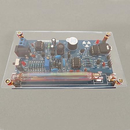 LaDicha Ensamblado DIY Geiger Módulo De Kit De Contador Miller Tube Gm Tubo De Detección De Radiación Nuclear: Amazon.es: Hogar