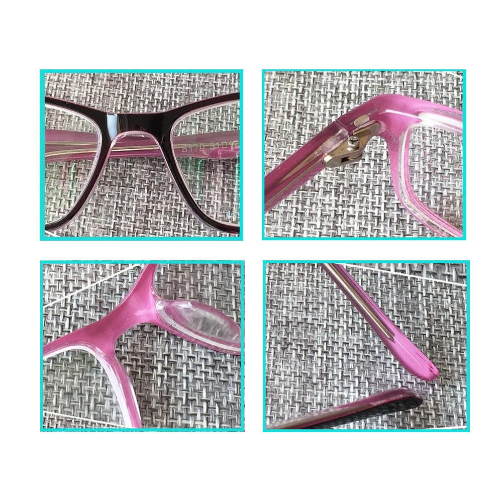 c6d5efe230 Xinvision Women Girls Myopia Anti-radiation Eyeglasses Short Sight Nearsighted  Glasses Strength -1.00~-6.00 (These are not reading glasses)  Amazon.co.uk   ...