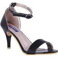 MSC Women Synthetic Black Heels