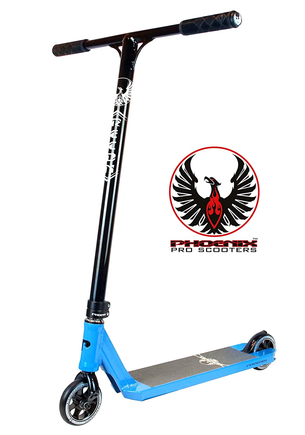 Phoenix Integrated Pro Scooter Session Complete - 4.5 x 20 Black/Teal Brand New Complete Phoenix Pro Scooters 917511