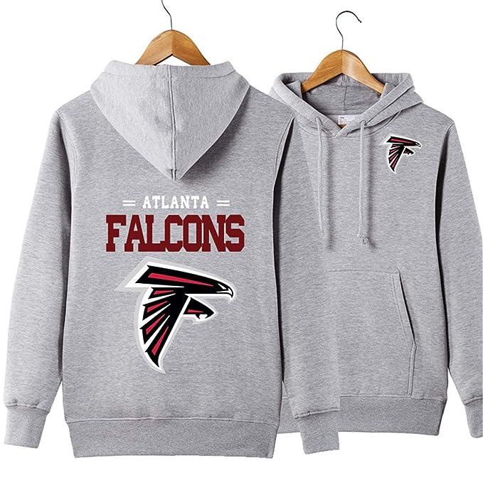 promo code 8e5cb d440e Men's Hooded Long Sleeve Letters Print Atlanta Falcons ...