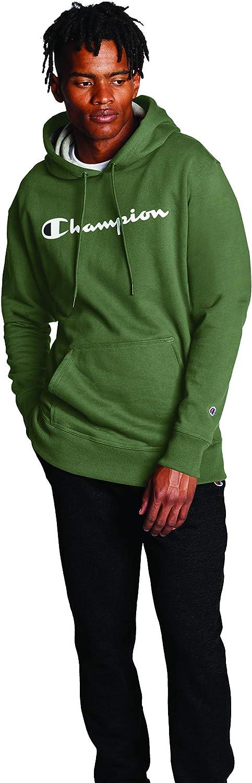 Champion Mens Reverse Weave Pull Over Hood Print Shirt