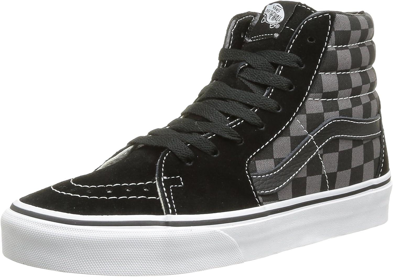 Vans Sk8 Hi, Sneakers Hautes mixte adulte, Noir