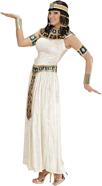 WIDMANN Widman - Disfraz de emperatriz egipcia para mujer, talla M ...