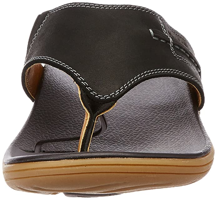 a13df648003 Miraatti Men s Black leather Sandals and Floaters - 11 UK (5003-10)  Buy  Online at Low Prices in India - Amazon.in