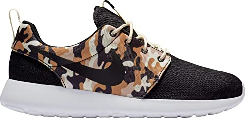b868d0d12a5ef Nike Men s Roshe One SE Camo Shoes (Black Tan